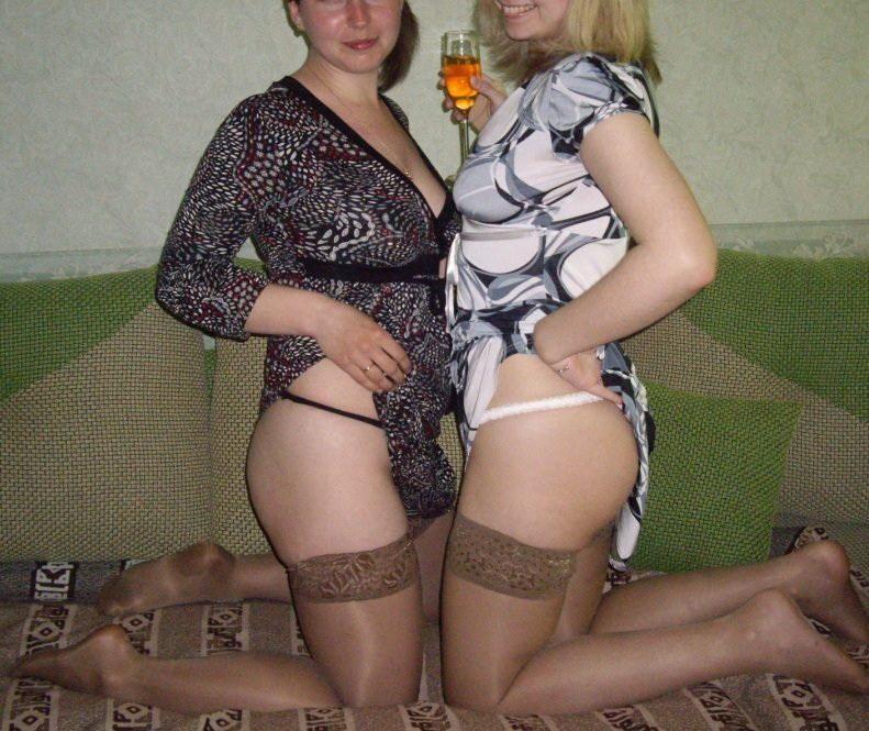 в чулках русские частные фото